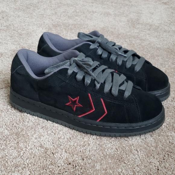 Vintage Converse Ev Pro Ox Suede Shoes